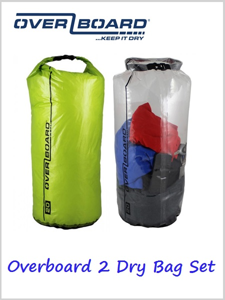 OverBoard Dry Bag Set 20 litre x 2